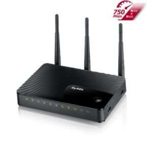 ZyXEL Dual-Band Wireless N750 Media Router NBG5615 nur 39,-€