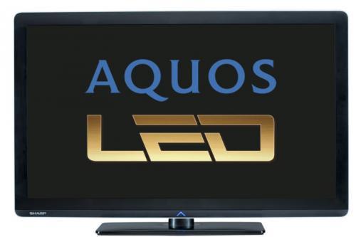 SHARP LC 37 LE 320 E LED Fernseher 100Hz DVB-T/C USB für 439€ incl.Versand