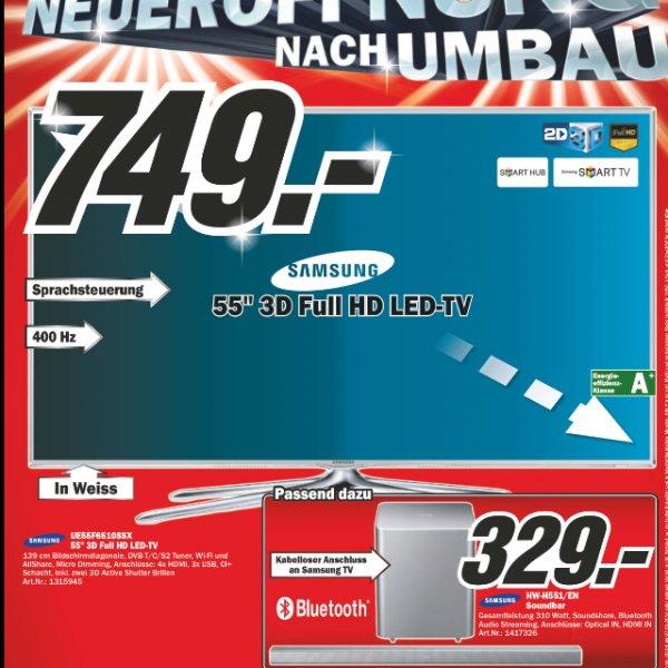 Meidamarkt Schweiz Samsung 55f6510