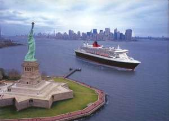 Queen Mary2: New York - Hamburg 9+1 Nächte incl. Flug nach NYC und 1 ÜN dort.