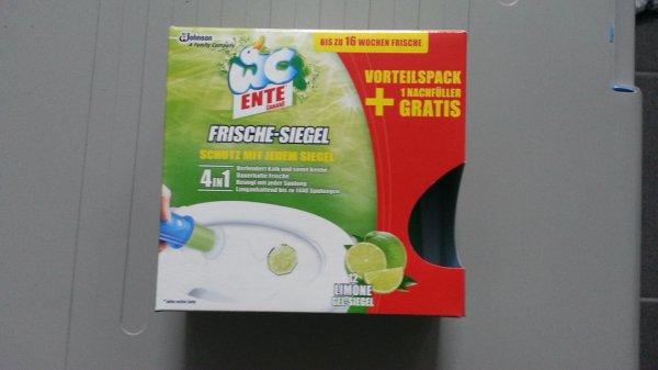 [Rossmann] WC Ente Frische Siegel Aktionspackung mit 12 Siegel verschiedene Sorte für 2,95 statt 4,95€ mit 10% Gutschein noch 2,65€
