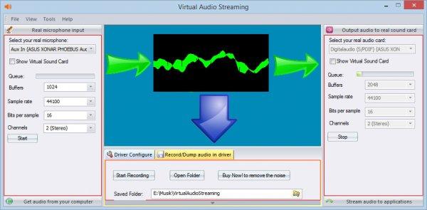 Virtual Audio Streaming - Ton von allen Quellen aufzeichnen - Skype, Onlinemusik usw. [kostenlose Vollversion]