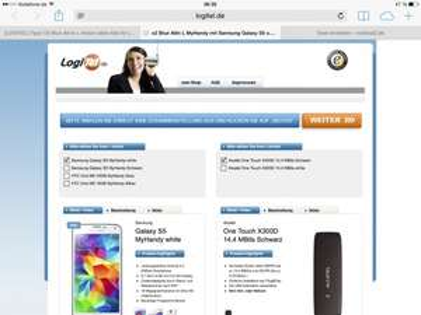 (Logitel) o2 Blue All-in L junge Leute mit o2 My Handy Galaxy S5 oder HTC M8 allnetflat allnetsms 5gb Internet!  Effektiv 36,30€ mtl.
