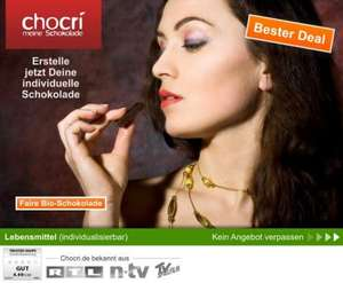 Chocri jetzt für 5 statt 20 Euro - Rekord