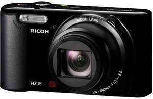 Digitalkamera RICOH HZ 15  wieder im Angebot