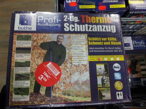 THERMO-SCHUTZANZUG 2-TEILIG VON BUTHE FÜR 3,99 € bei WOOLWORTH !