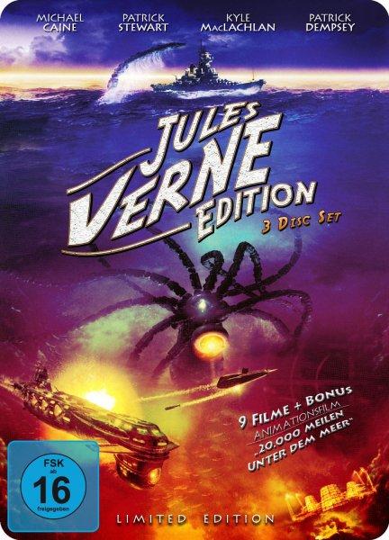 [Media Markt] Jules Verne Edition 3 DVD's (10 Filme) mit Metallbox für 10€ incl.Versand