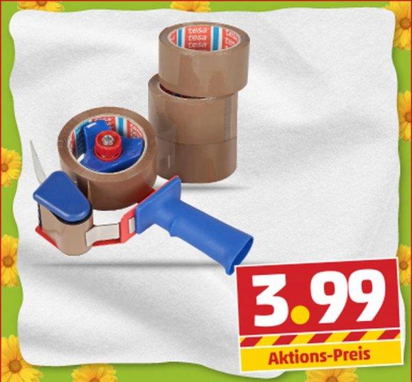 [Penny] ab Do. 08.05: Tesapack Packband 3 Rollen ODER Abroller + 1 Rolle