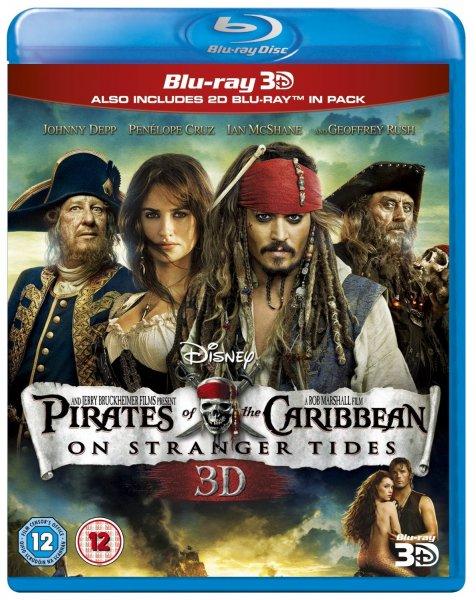 Pirates of the Caribbean – On Stranger Tides (Fremde Gezeiten) [Blu-ray 3D + 2D Blu-ray] (OT) für 8,63 € inkl. Vsk.