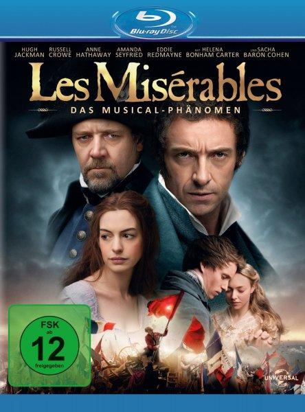 [amazon.de] Les Miserables [Blu-ray]  für 6,80 € ( Prime o. Hermes )