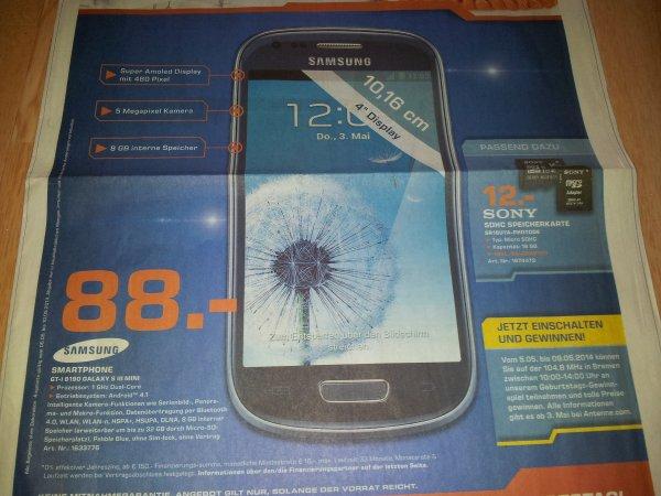 [Lokal Bremen] Samsung Galaxy S3 mini