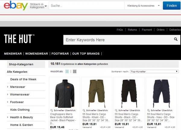 The-Hut Sale mit bis zu 75% Rabatt