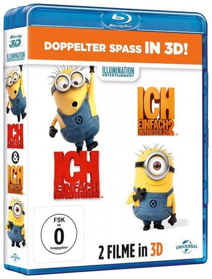 [3D Blu-ray] Ich - Einfach unverbesserlich 1&2 für 22,97€ - VORBEI und jetzt 24,99€