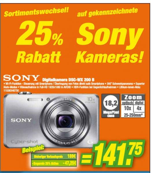 Offline - Sony DSC-WX200 für 141,75 € Expert Klein Aschaffenburg + Hanau