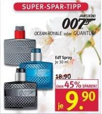 [Rossmann] James Bond EdT Spray 30 ml