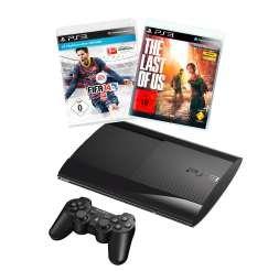 PS3 / Playstation 3 500 GB mit Fifa 14 und Last of Us: 226,99 Euro - Media Markt