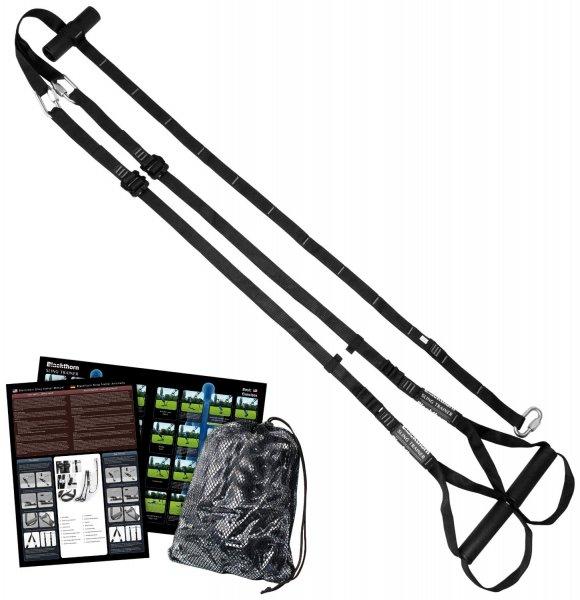 -43% Blackthorn Sling Trainer. Schlingentrainer mit Türanker und verstellbaren Fussschlaufen. Teilbar!