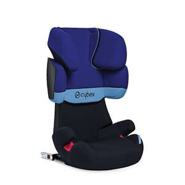 [toys r us] CYBEX SILVER Kinderautositz Solution X-fix, Gruppe 2/3 (15-36 kg), Blue Moon - 98,94€ - isofix Kindersitz