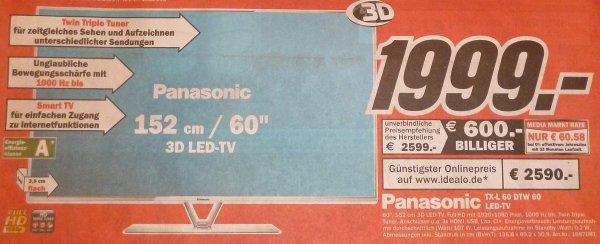 [LOKAL] Offenburg: Panasonic TX-L 60 DTW 60 - 1999€ (TVs, Handys, Tablets, Haushalt, ...)