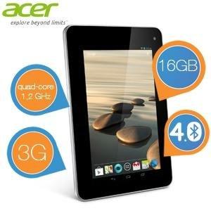 "Acer Iconia B1-711 - 7"" Tablet 16GB 3G für 125,90€ @iBOOD"
