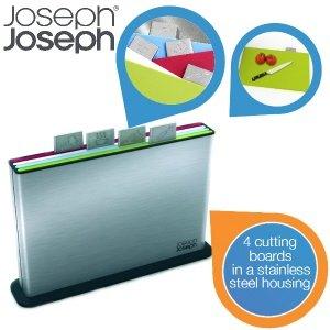 Joseph Joseph Index Steel mit 4 Schneidbrettern für 45,90 € statt 67,00 € @iBOOD.com