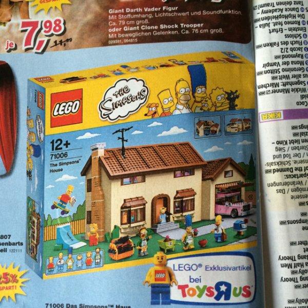 Lego Simpsons Haus 71006 bei ToysRUs