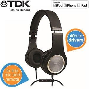 TDK STi710 Kopfhörer mit integriertem In-Line-Equalizer und Display für 45,90€