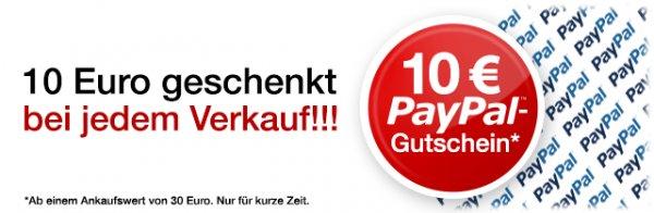 10€ Paypal Gutschein für Trade bei flip4new ab 50Cent