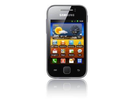 Samsung Galaxy Y grau B-Ware für 30 € (bzw. 27,9 €) bei MeinPaket.de