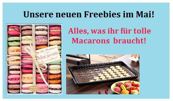 Backzubehör und Backbuch für Macarons