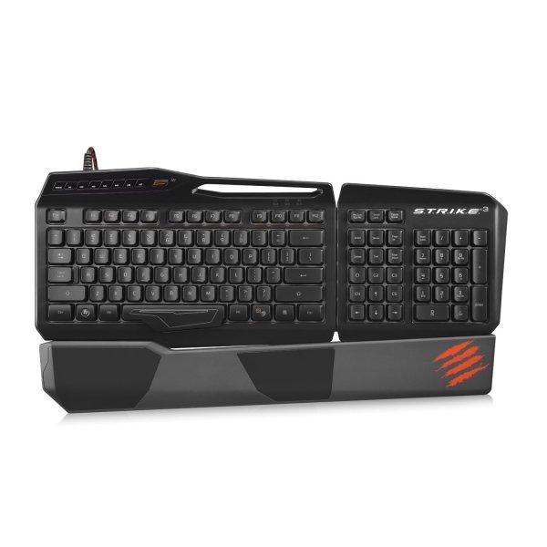 Mad Catz S.T.R.I.K.E. 3 Gaming-Tastatur für 62,98€ @ Notebooksbilliger