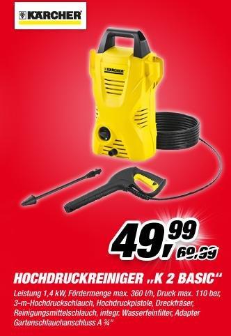 Kärcher K2 Basic beim Toom für 49,99 (evtl. Tiefpreisgarantie bei Hornbach und Bauhaus?)