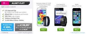 T-Mobile Complete Comfort M All-Net + SMS + 750mb LTE + Galaxy S5 + Galaxy Gear Fit (Vertrag rechnerisch 13,49€/mtl.)