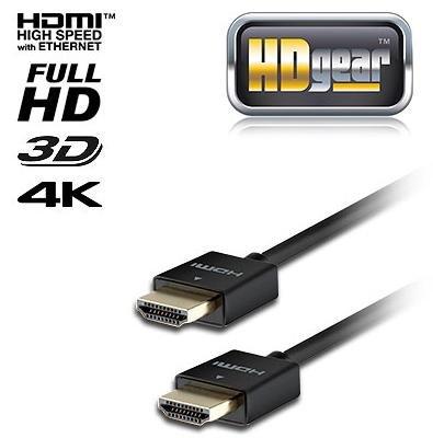 Gratis (nur Versand) - HDMI Goldkabel, 1,5 m (super flach)