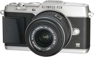 Olympus Pen E-P5 Kit 14-42 mm + 40-150mm Zoom Kit für 965€ @Media Markt