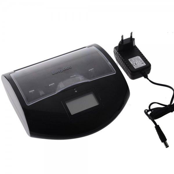 [amazon] EasyAcc® AA AAA 18650 9V C D Universal Akkuladegerät und USB Ladegerät für 19,99€