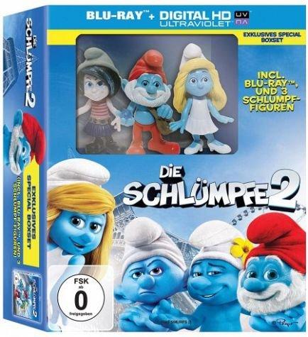 [Bücher.de] Die Schlümpfe 2 (Blu-ray Special Boxset mit 3 Schlumpf Figuren)
