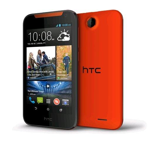 [Orange] HTC Desire 310, Orange, nur 138,99€ (mit Gutschein), ohne Simlock
