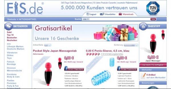 Kostenlose Artikel auf Eis.de / Versandkosten