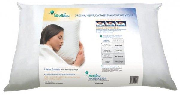 Plus.de: Mediflow 5001 original Wasserkissen 40 x 80 cm, weiß - 2er-SET (52,95 € ohne, 50,28 € mit qipu)