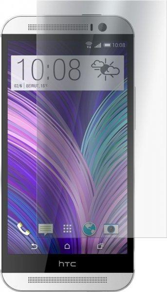 4 x HTC One M8 (2014 Modell) Schutzfolie Klar