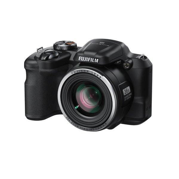 Amazon Blitzangebot - Fujifilm FinePix S8600 Kompaktkamera (16 Megapixel, 7,6 cm (3 Zoll) Display, 36-fach opt. Zoom, Kompakte Bauweise) schwarz