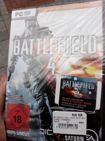 (Lokal/Leverkusen) Battlefield 4[PC] für 10€,PS3/X360 für 15€