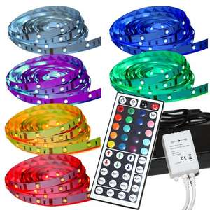 Ebay Wow Tagenangebot: 5M LED RGB Strip inkl. Fernbedienung