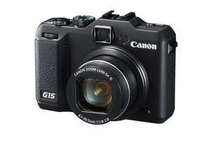 Canon PowerShot G15 für 292,15€ @Amazon.fr