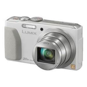 Panasonic DMC-TZ40 Digitalkamera (18 MP, 20x opt. Zoom, Full-HD Filme, GPS, Wi-Fi, NFC) weiß für 178,36€