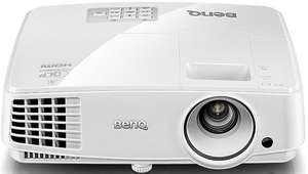 BenQ TW523P DLP Beamer, WXGA, 3.000 ANSI Lumen, 13.000:1 Kontrast, 3D-fähig über HDMI ab 10 Uhr bei notebooksbilliger.de für 347.89€  - 44€ sparen