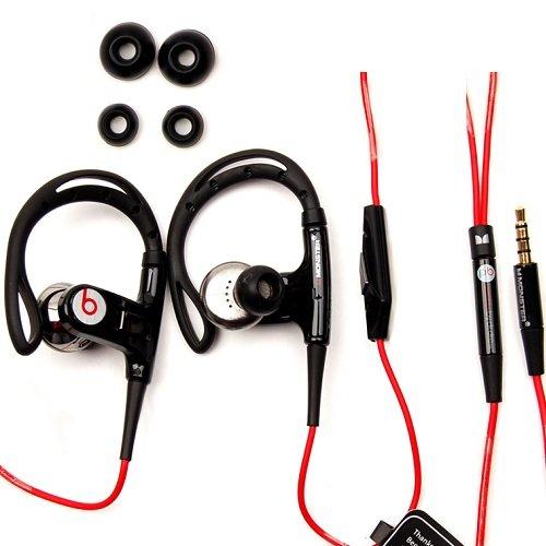 Beats By Dre PowerBeats with ControlTalk (schwarz) für 72,90€ inkl. Versand @ Ebay (30% unter Idealo)