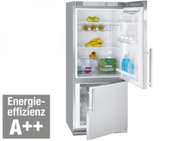 Bomann KG 210 inox A++ Kühl-/Gefrier-Kombination 227 Liter @Ebay Limal ~ 120 EUR unter geizhals Preis