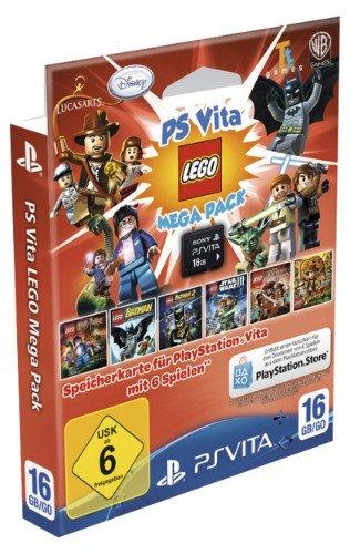 PS Vita Speicherkarte 16GB inkl. Lego Mega Pack bei MyToys.de